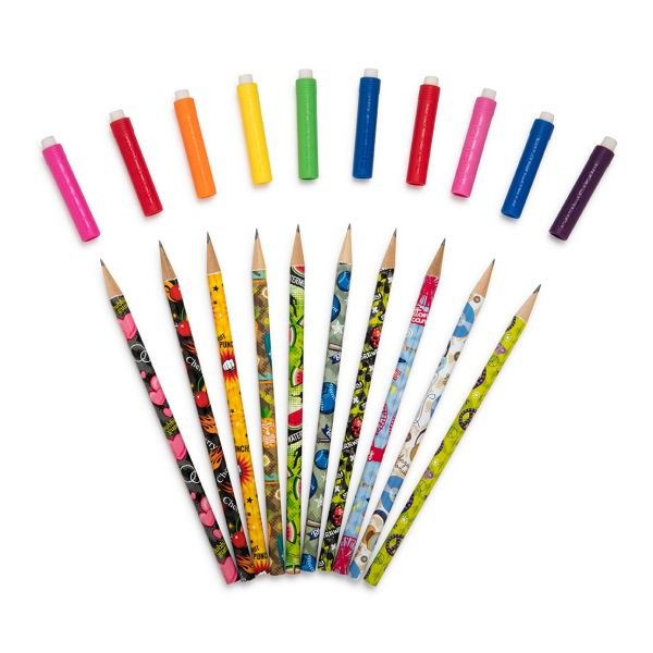 Assorted Pencil Scented Toppers Fan