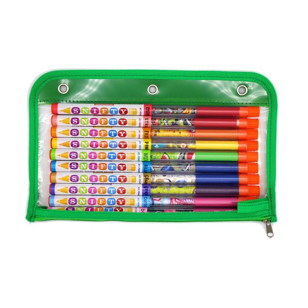 Scented Pencil Topper 10 Pack in Pouch